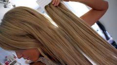 Как крепить волосы на тресах
