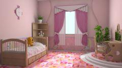 Как создать уютный интерьер детской комнаты для девочек