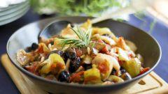 Как тушить баклажаны с овощами