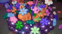 Как из шарика сделать цветок