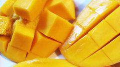 Как правильно есть манго