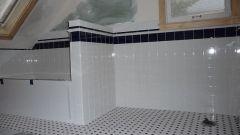 Зеркальная плитка - прекрасное украшение для ванной комнаты
