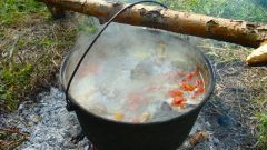 The recipe for fisherman's soup on the fire: the secrets of Russian cuisine
