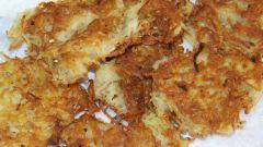 Картофельные деруны: традиционный рецепт
