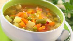 Как приготовить легкий овощной суп