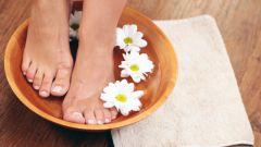 Что добавлять в воду в ванночку для ног