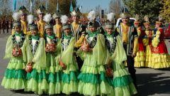 Казахский народный костюм: основные особенности
