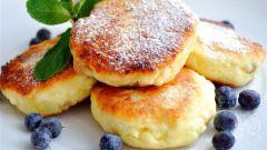 Простой рецепт сырников из творога с манкой