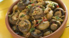 Как приготовить грибы по-корейски