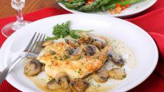 Горбуша, запеченная в духовке с грибами: пошаговый рецепт