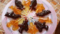 Разноцветные петушки на палочке: рецепт из детства