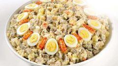 Как приготовить салат с раковыми шейками