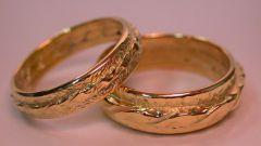 Золотые обручальные кольца: как выбрать