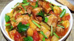 Как приготовить азу из свинины