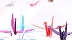 Традиционное японское искусство: оригами из треугольных модулей