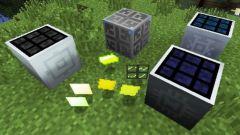 Как сделать улучшенную солнечную панель в Minecraft