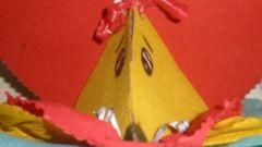 Как сделать мышку-коробочку из бумаги своими руками
