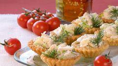 Как приготовить тарталетки с сыром