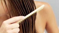 Как правильно расчесывать мокрые волосы после ванны