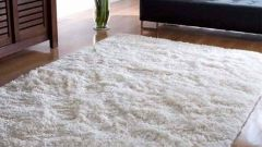 Как отмыть белый ковролин