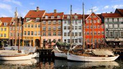 Красивый город Копенгаген - столица Дании