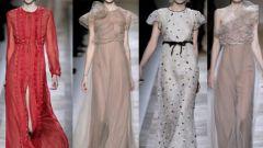 Модные акценты: платье с шифоновыми рукавами