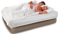 Кровать двуспальная надувная - удобное место для сна и отдыха
