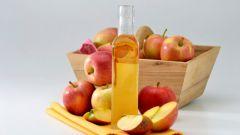 Яблочный уксус против растяжек