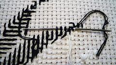 Куда деваются узелки на вышивке