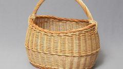 Как выполняется плетение корзины из ивы