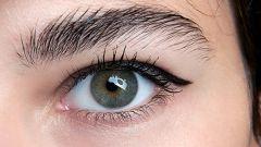 Как нарисовать `стрелки` на глазах с нависающим веком