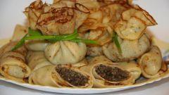 Рецепт блинов с грибной начинкой