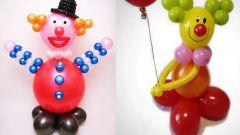 Как сделать клоуна из воздушных шаров своими руками