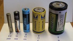 Batteries D: description, characteristics