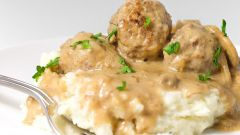 How to cook meatballs of chicken mince