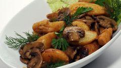 Какую приправу лучше всего добавлять при жарке грибов