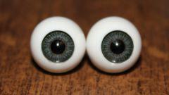 Из чего можно сделать глазки для самодельных кукол