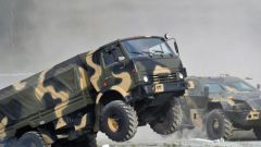 Военный КамАЗ: сила войск РФ