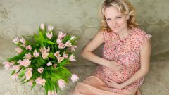 What kind of flowers you can give to pregnant women