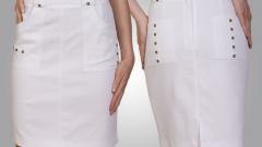 Как сшить прямую двухшовную юбку