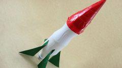 Как сделать ракету из пластиковых бутылок