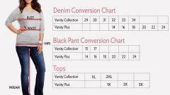 Размеры женских джинсов: знание - половина успеха