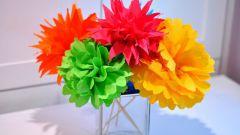 Красивые поделки из бумаги: цветы и цветочные украшения