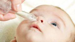 Как закапывать капли в нос маленьким детям