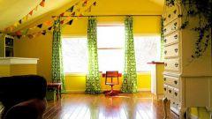 Занавески в детскую – яркое украшение комнаты