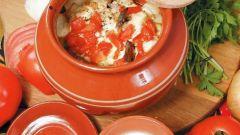 Как приготовить капусту в горшочках