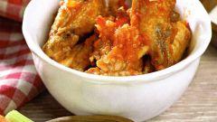 Как приготовить куриные крылышки «Баффало»