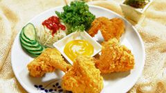 Хрустящий лосось по-тайски