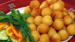 Картофельные шарики для гарнира