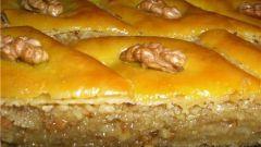 Восточная медовая пахлава: рецепт